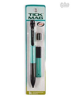 گاج مداد آزمون TicK Mag آبی فیروزه ای