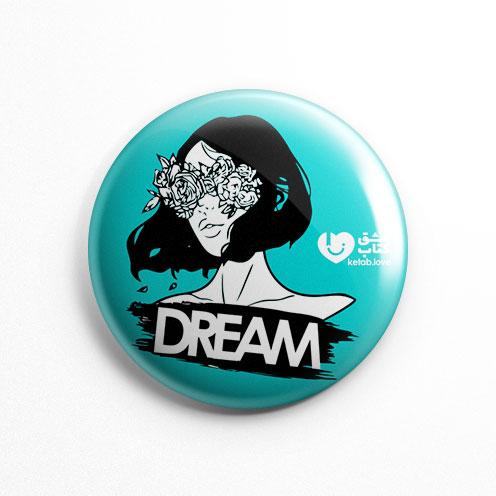 پیکسل عشق کتاب Dream Girl فیروزه ای (کد 151)