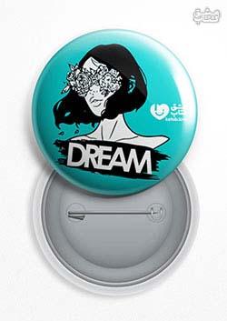 پیکسل عشق کتاب Dream Girl فیروزه ای (151)
