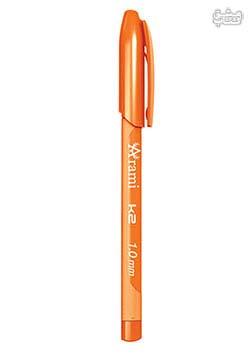 خودکار 1 میلی متری آرامی نارنجی مدل k2