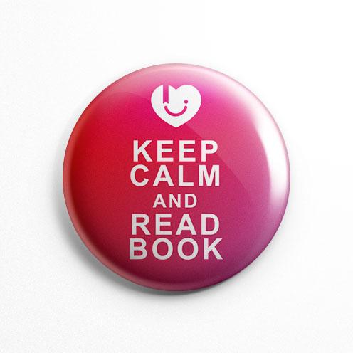 پیکسل عشق کتاب قرمز Keep Calm (کد 123)