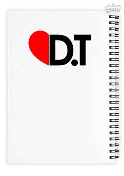 دفتر 100 برگ خط ریز DT