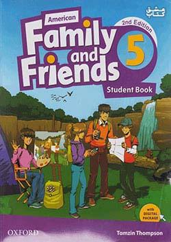 جنگل فامیلی اند فرندز 5 American Family and Friends 2nd 5 SB+WB+CD+DVD