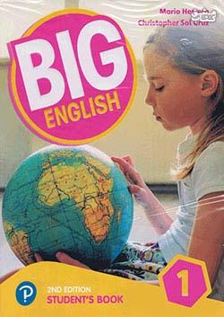 جنگل بیگ اینگلیش 1 Big English 2nd 1SB+WB+CD+DVD - Glossy Papers