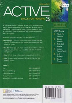 جنگل اکتیو 3 ACTIVE Skills for Reading 3 3rd Edition