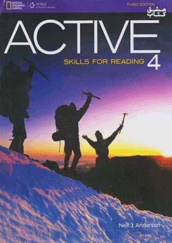 جنگل اکتیو 4 ACTIVE Skills for Reading 4 3rd Edition