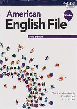 جنگل امریکن اینگلیش فایل استارتر American English File 3rd Starter SB+WB+DVD - Glossy Papers