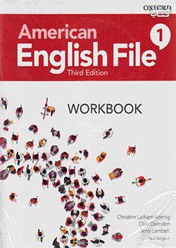 جنگل امریکن اینگلیش فایل 1 American English File 3rd 1 SB+WB+DVD - Glossy Papers