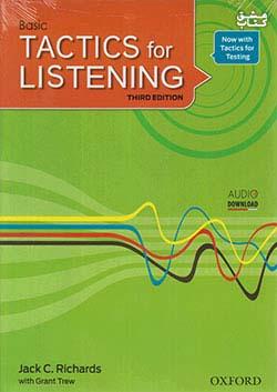 جنگل Tactics for Listening 3rd Basic + CD