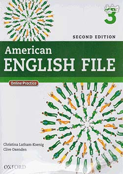 جنگل امریکن اینگلیش فایل 3 American English File 2nd 3 SB+WB+2CD+DVD
