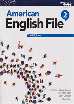 جنگل امریکن اینگلیش فایل 2 American English File 3rd 2 SB+WB+DVD - Glossy Papers