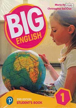 جنگل بیگ اینگلیش 1 Big English 2nd 1 SB+WB+CD+DVD