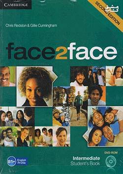 جنگل فیس تو فیس اینترمدیت Face2Face 2nd Intermediate SB+WB+CD
