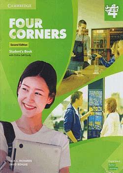 جنگل فر کرنرز 4 Four Corners 2nd 4 SB+WB+DVD - Glossy Papers