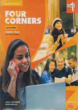 جنگل فر کرنرز 1 Four Corners 2nd 1 SB+WB+DVD - Glossy Papers