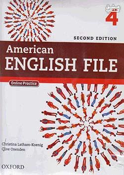 جنگل امریکن اینگلیش فایل 4 American English File 2nd 4 SB+WB+2CD+DVD