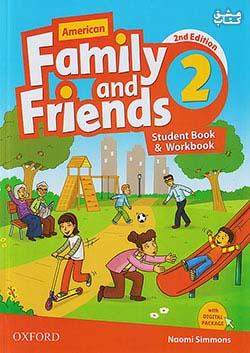 جنگل فامیلی اند فرندز 2 American Family and Friends 2nd 2 SB+WB+CD+DVD