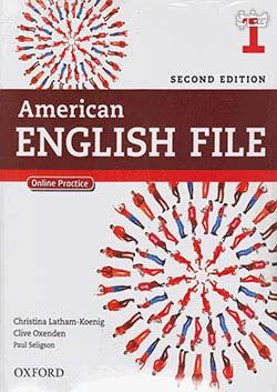 جنگل امریکن اینگلیش فایل 1 American English File 2nd 1 SB+WB+2CD+DVD