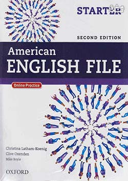 جنگل امریکن اینگلیش فایل استارتر American English File 2nd Starter SB+WB+2CD+DVD