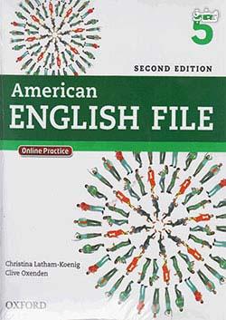 جنگل امریکن اینگلیش فایل 5 American English File 2nd 5 SB+WB+2CD+DVD