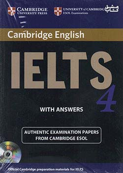 جنگل آیلتس کمبریج 4 IELTS Cambridge 4+CD