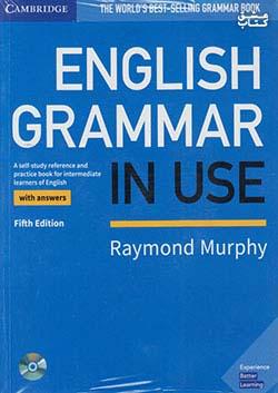 جنگل اینگلیش گرامر این یوز English Grammar in Use Intermediate 5th+CD With Answers & Practice Book