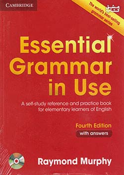 جنگل اسنشیال گرامر این یوز Essential Grammar In Use with answers 4th